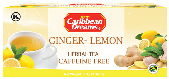 Caribbean Dreams Ginger Lemon Tea