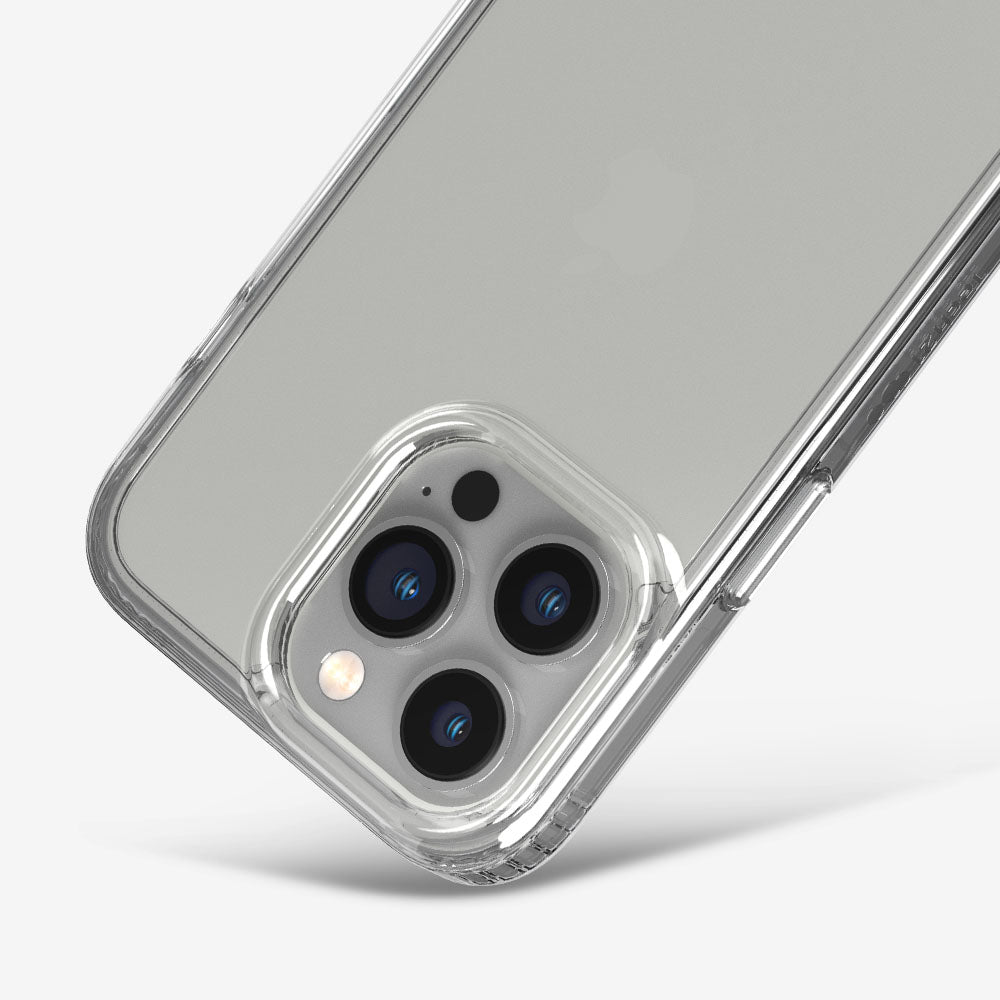 Tech21 iPhone 13 Evo Clear phone case with enhanced camera protection