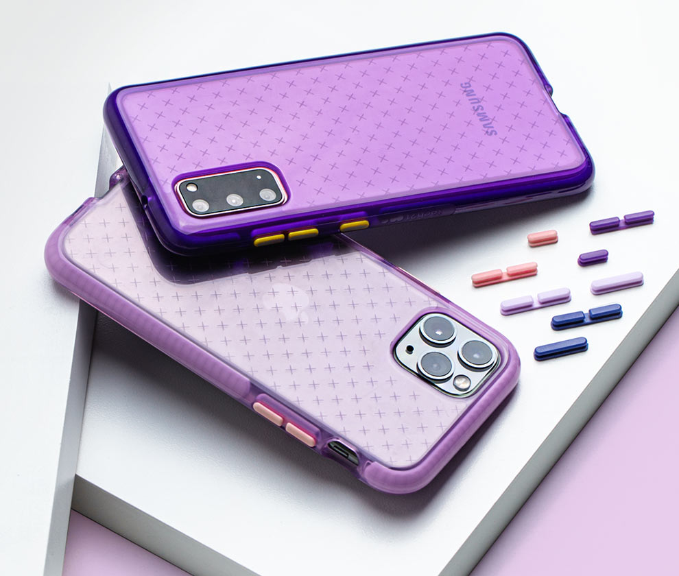 Tech21 Evo Check iPhone and Samsung Galaxy phone cases