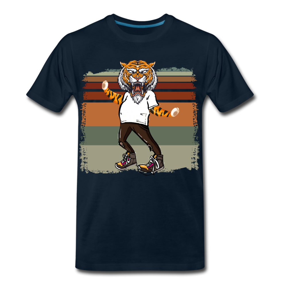 """Tigerman"" - deep navy"