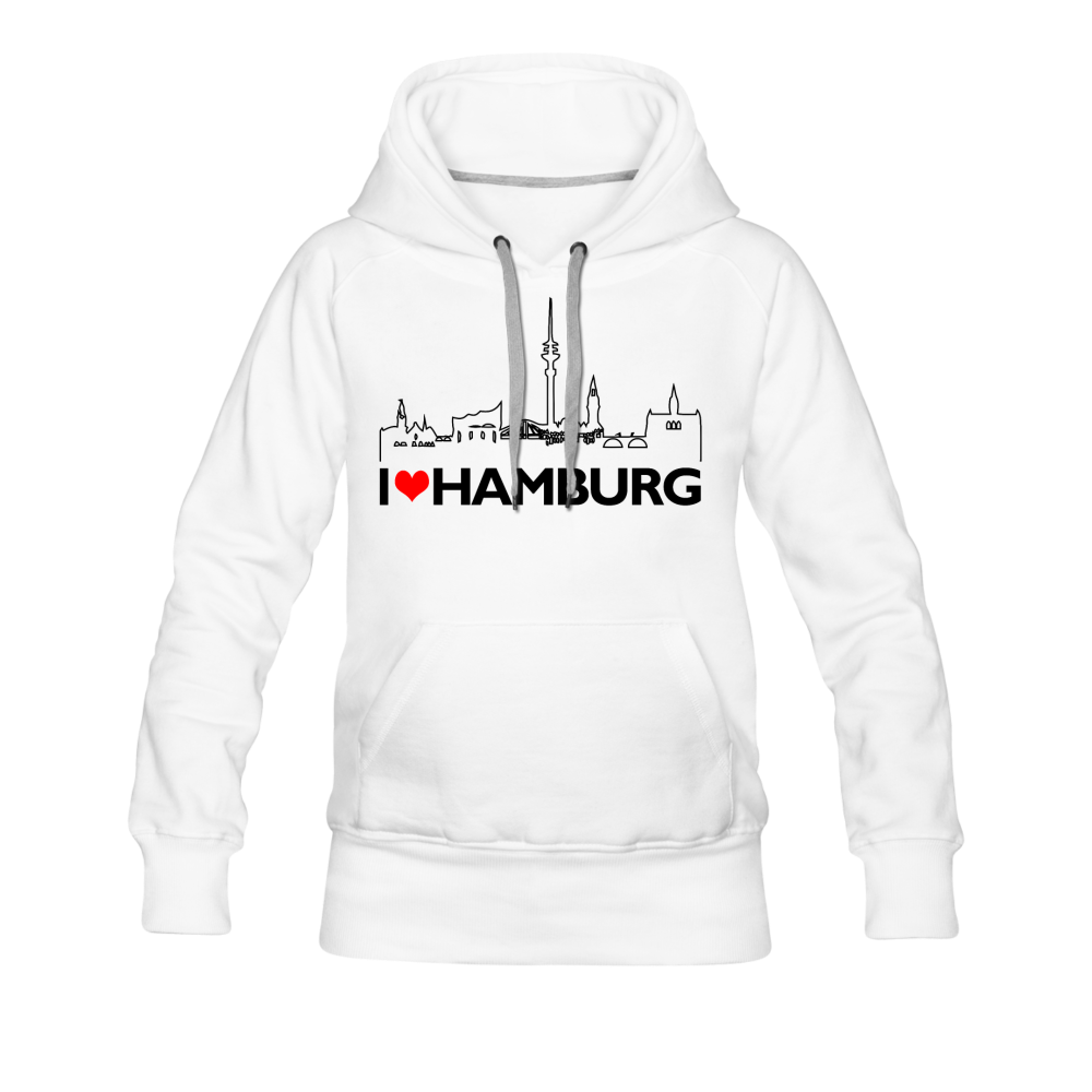"""Hamburg"" - white"