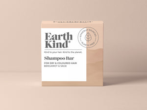 EarthKind Bergamot & Sage Shampoo Bar for Dry & Coloured Hair