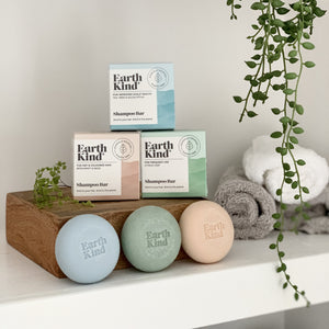 EarthKind Shampoo Bar Range