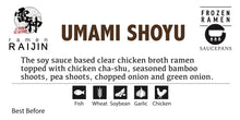 "Load image into Gallery viewer, ""Umami Shoyu Ramen"" for Saucepans"