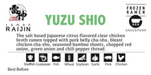 "Load image into Gallery viewer, ""Yuzu Shio Ramen"" for Saucepans"