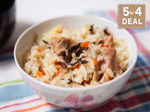 Chicken Burdock Rice kit ( 5 for 4 Deal )