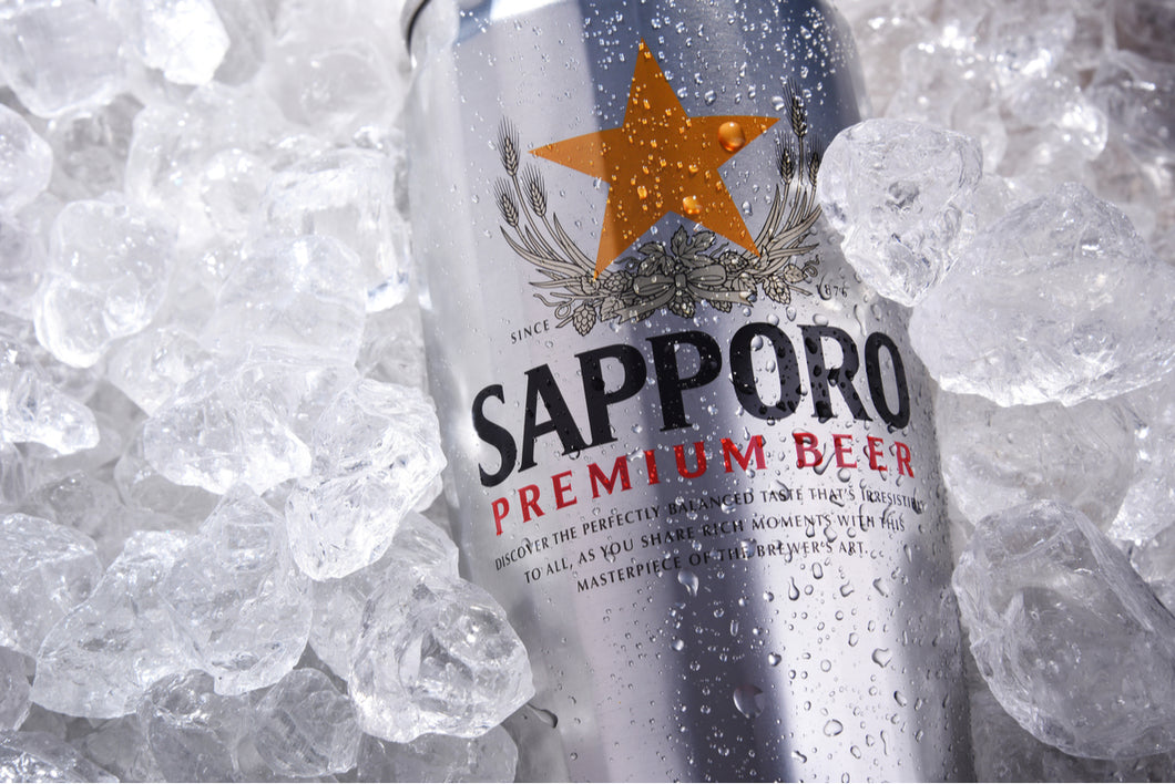 Sapporo Premium Beer Can 500ml single
