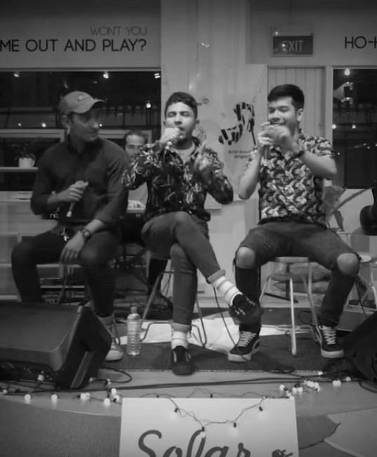 Sofar Sounds: Mediocre Haircut Crew - Journey East