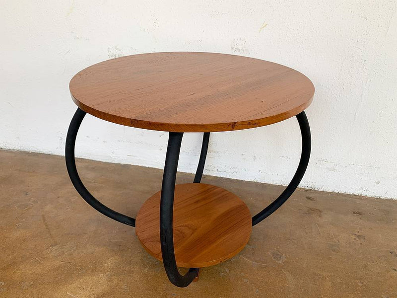 GSS: Round Coffee Table with Metal Legs - Journey East