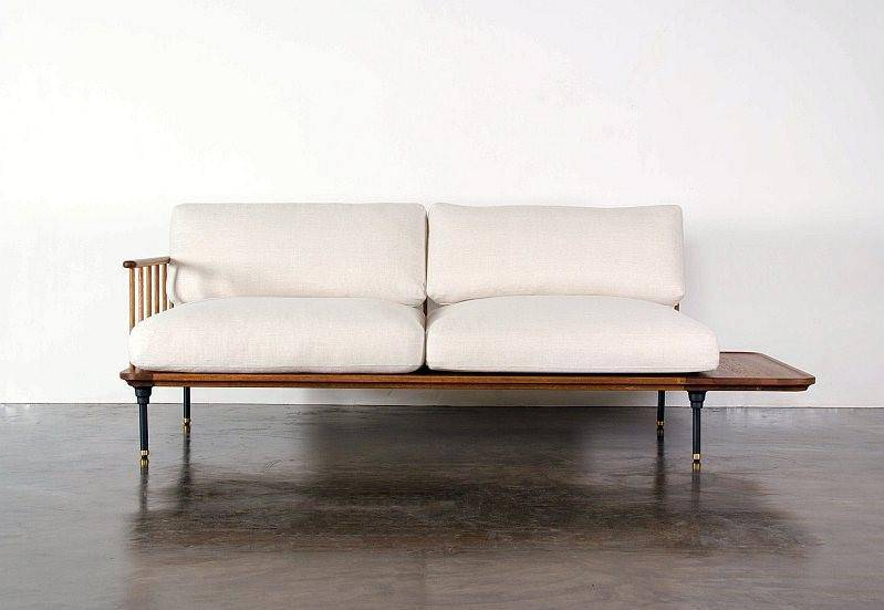 District Eight Distrikt Chaise Sofa - Journey East