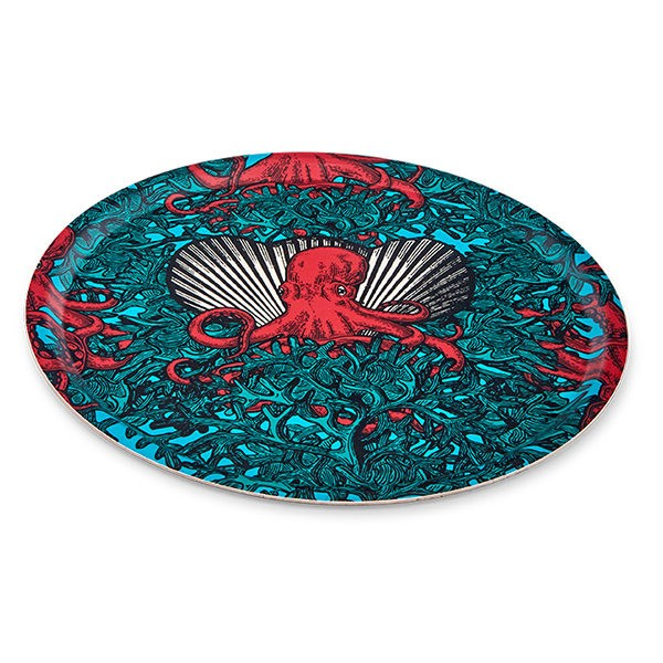 Gangzai Naughty Poulp Round Tray - Journey East
