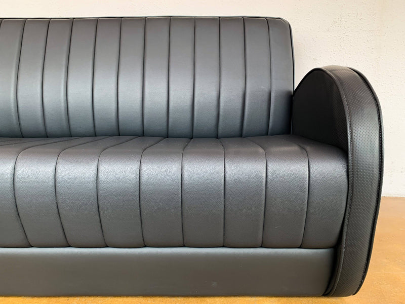 GSS: Art Deco Sofa with Channel Back - Journey East