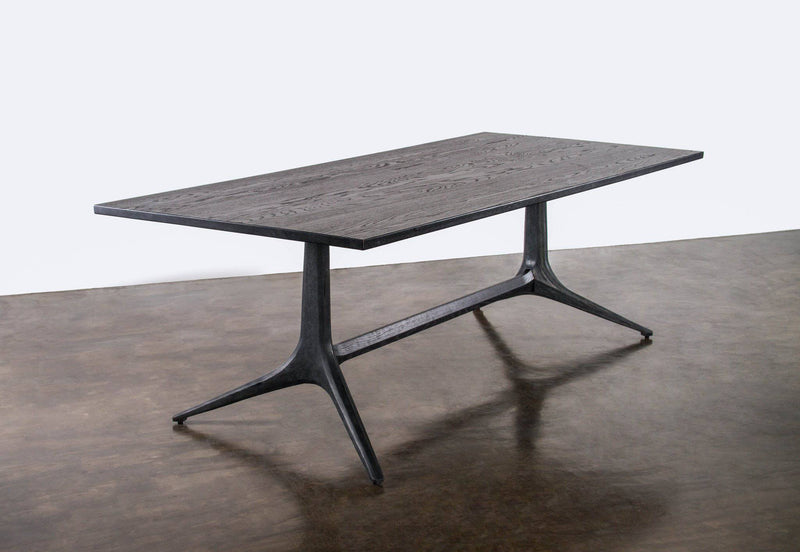 District Eight Kahn Trestle Dining Table - Journey East