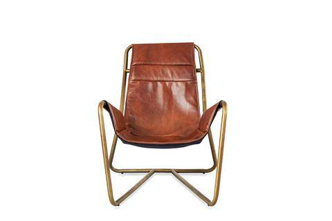 United Strangers Leather Sling Chair - Journey East