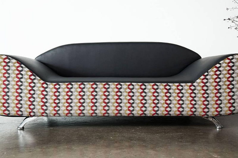 Art Deco Curved Sofa