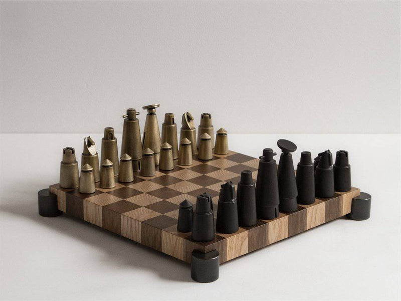 District Eight Chess Set - Journey East