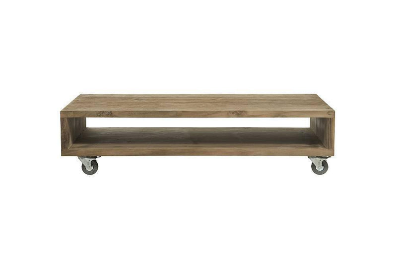 d-Bodhi Fissure Coffee Table with Wheels - Journey East