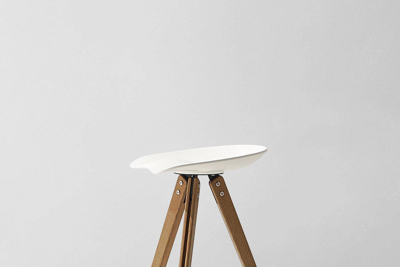 District Eight Theo Tractor Counter & Bar Stool - Journey East