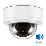 IPC-D280-S - 8MP True 4K Ultra HD PoE Bullet/Dome IP Security Camera Micro Phone Bulild-in H.265 Hikvision/ONVIF