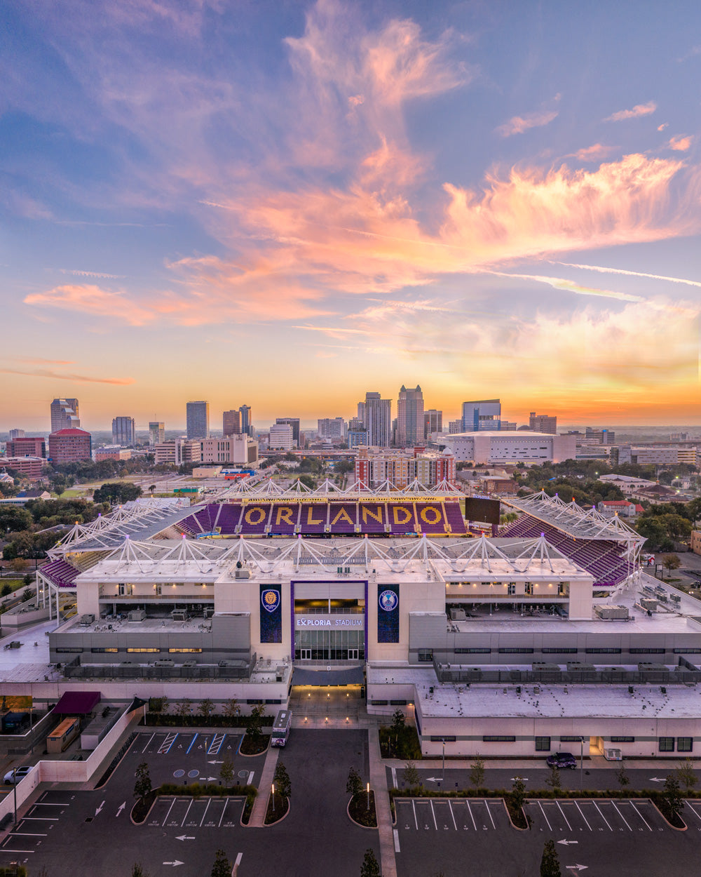 Orlando City at Sunrise