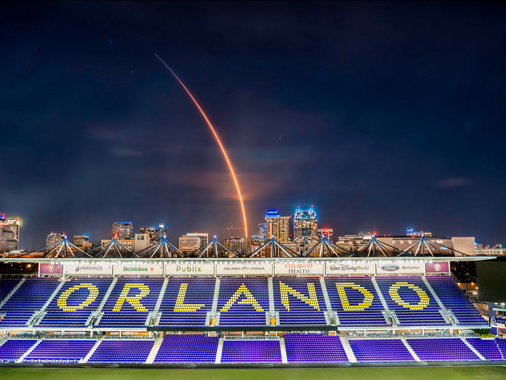Orlando City SpaceX Launch