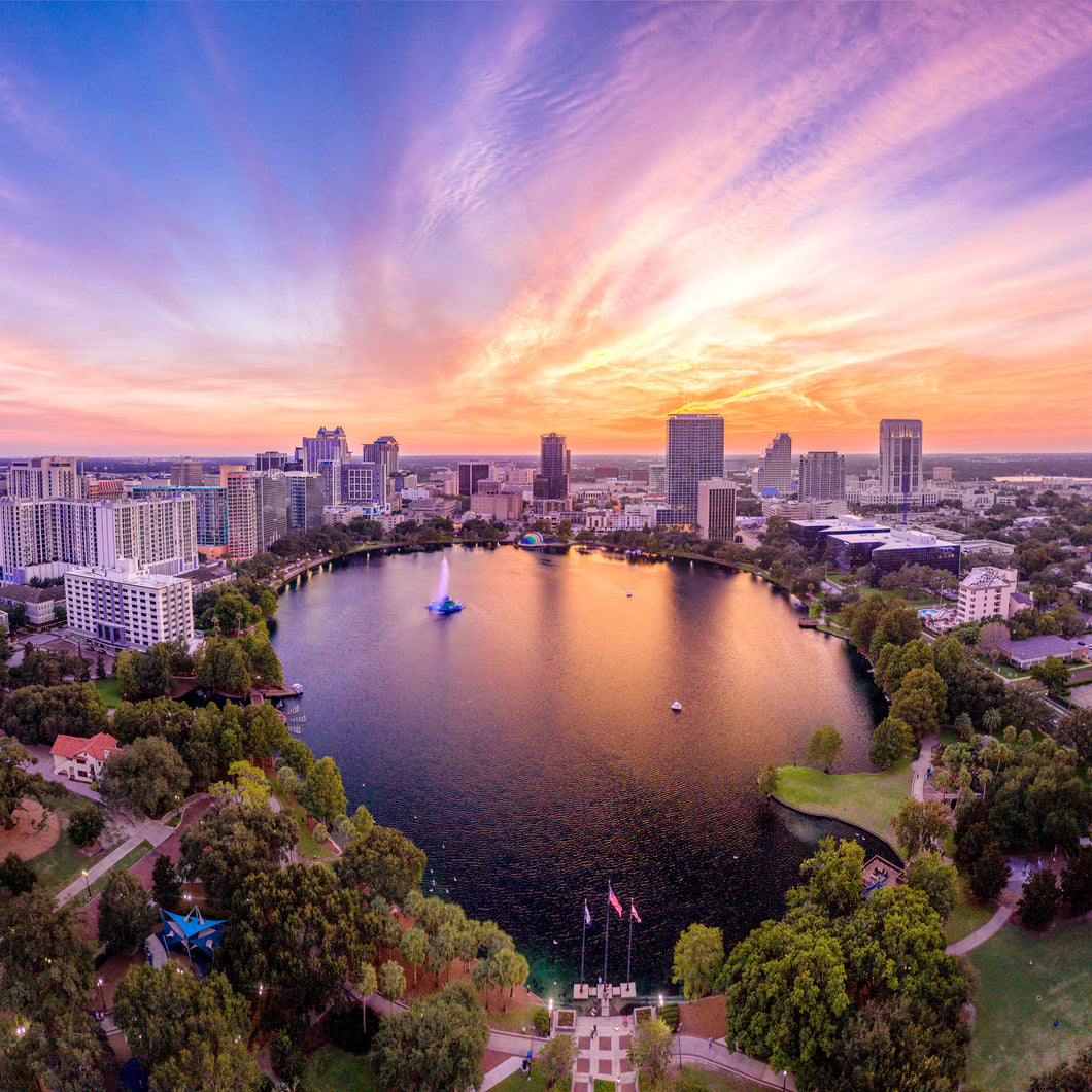Panoramic Lake Eola