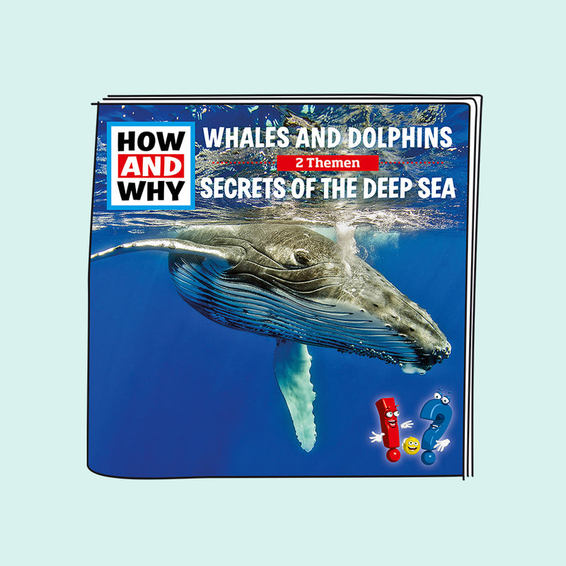 How & Why - Whales and Dolphins / Secrets of the Deep Sea Audio Tonie Character