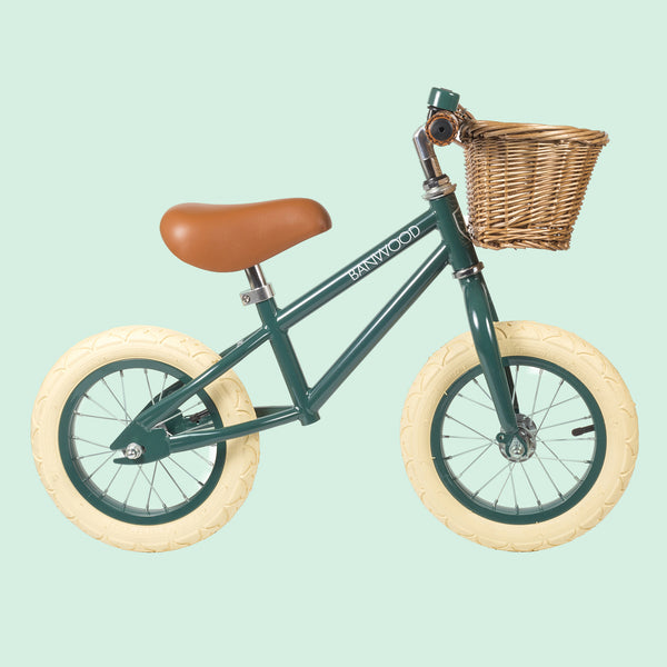 First Go Balance Bike Green