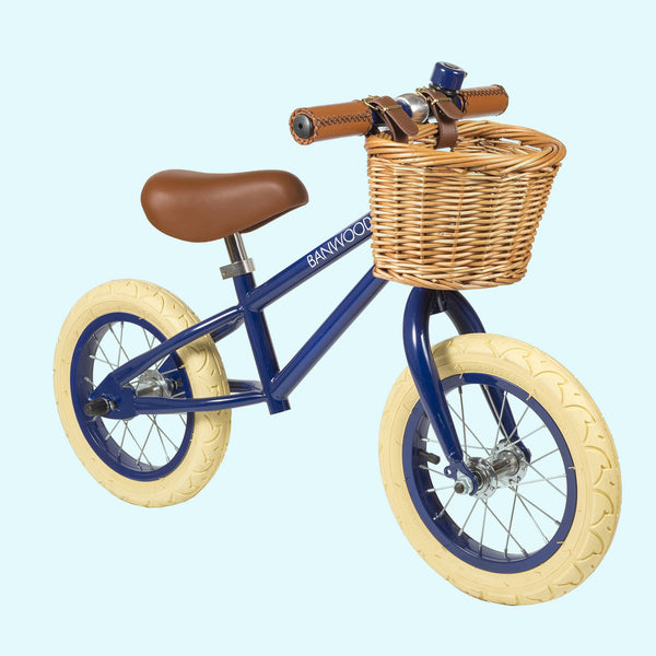 First Go Balance Bike Navy