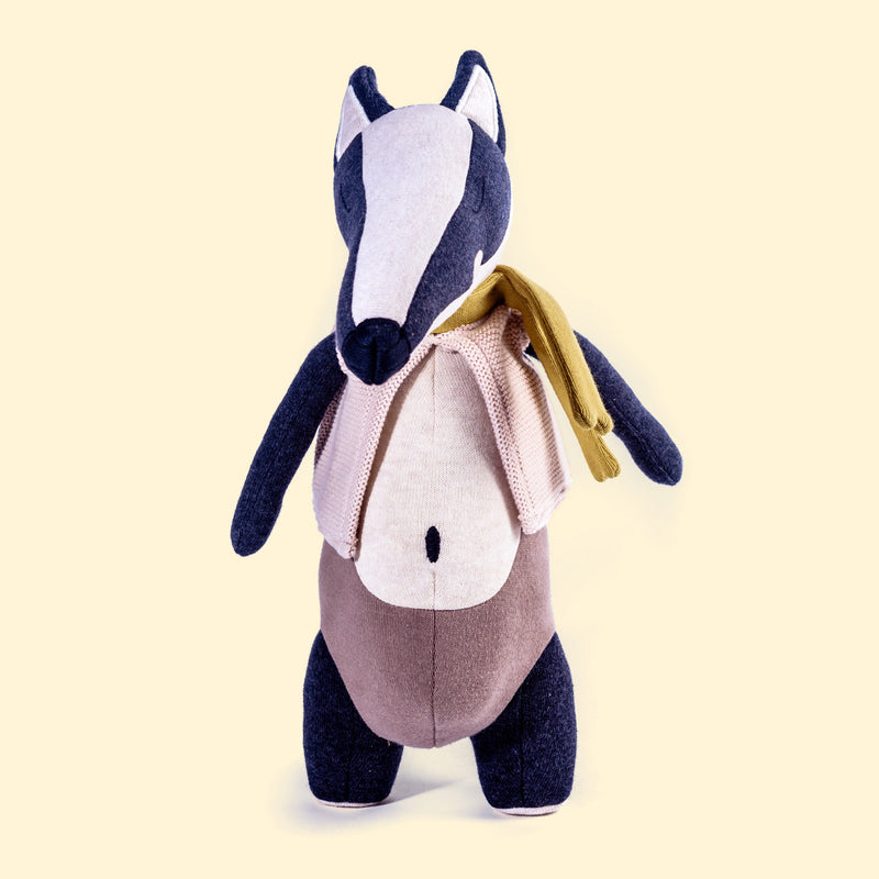 Cuddly Toy Badger 'Lou'
