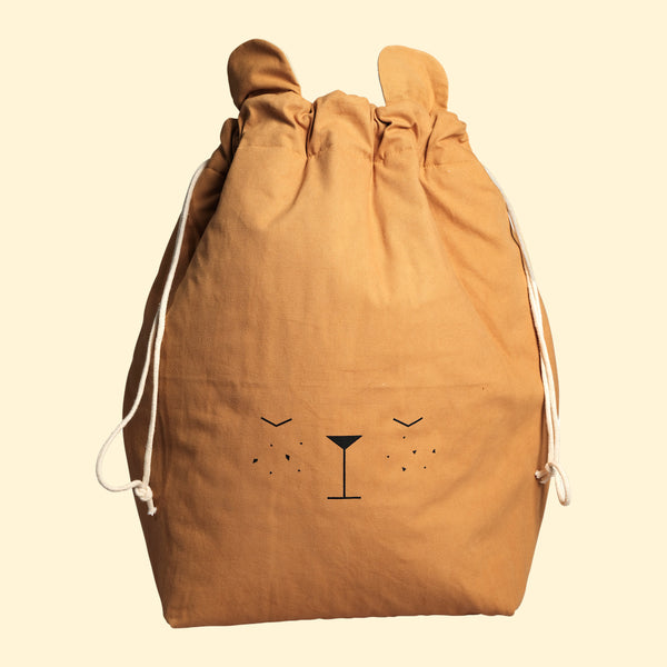 Storage Bag - Bear - Ochre