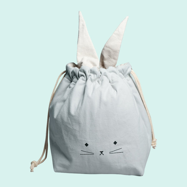 Storage Bag - Small - Cat - Foggy Blue