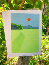 "Load image into Gallery viewer, ""Rift Zone Trail"" 5x7"