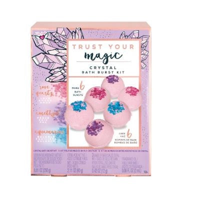 Trust Your Magic Crystal Bath Burst Kit