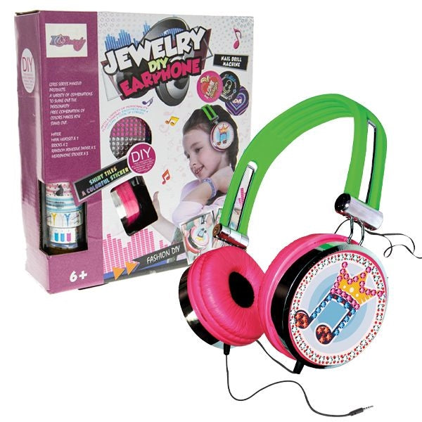 Customizable Headphones with Stickers