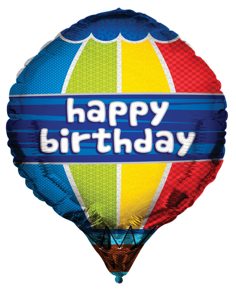 "24"" Happy Birthday Hot Air Balloon"
