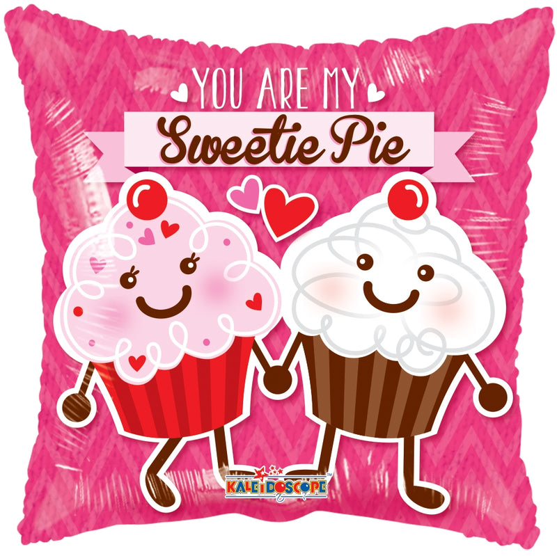 "18"" You Are My Sweetie Pie Square Balloon"