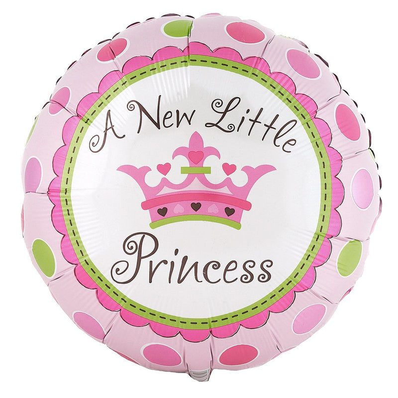 "18"" A New Little Princess Balloon"