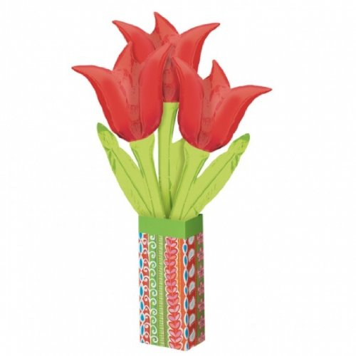 "29"" Airfill Tulip  Bouquet Balloon Set"