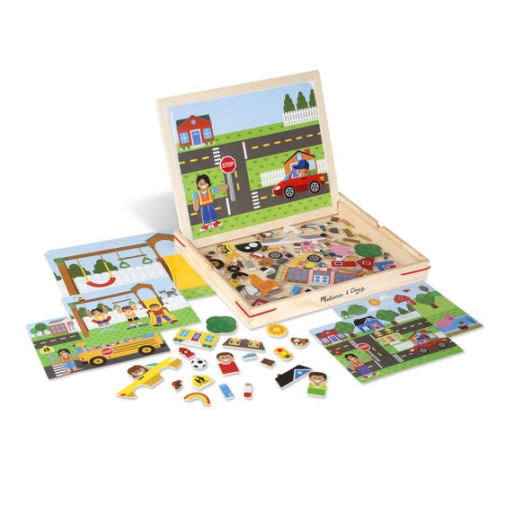 Wooden Magnetic Matching Picture Game