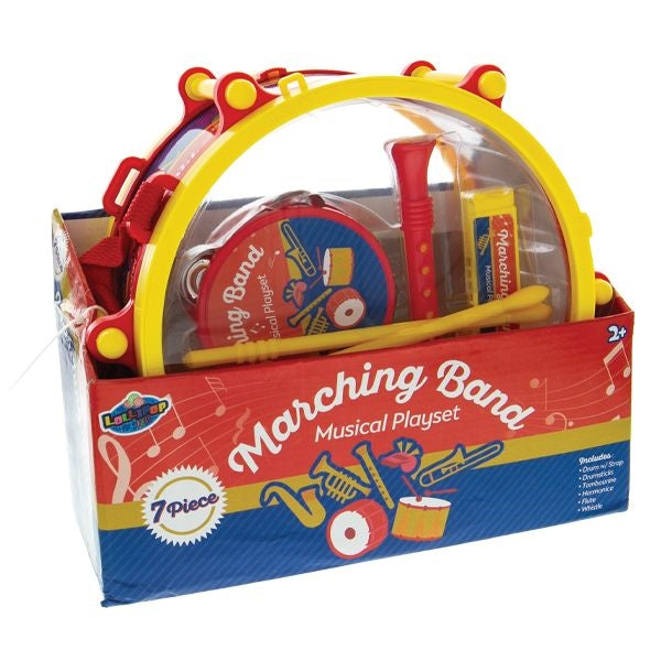 Marching Band Musical Playset