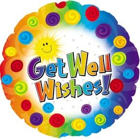 18'' Get Well Wishes! Balloon