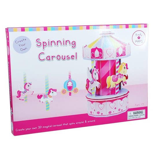 DIY Spinning Carousel Craft