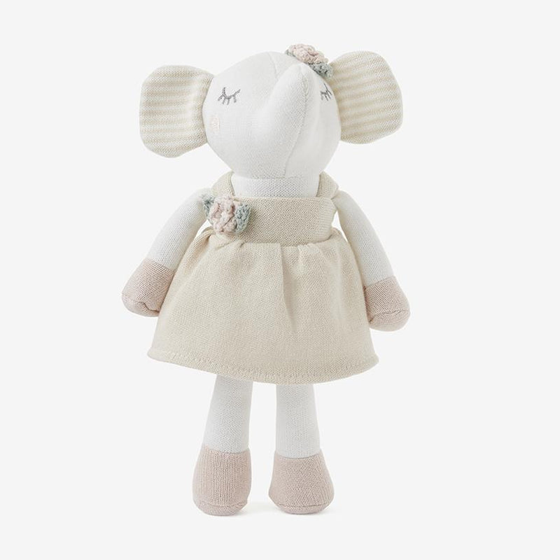 Elephant Princess Baby Knit Toy with Gift Box
