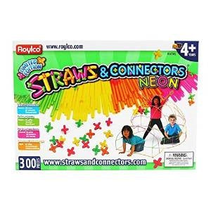 Straws & Connectors Neon 300pcs.