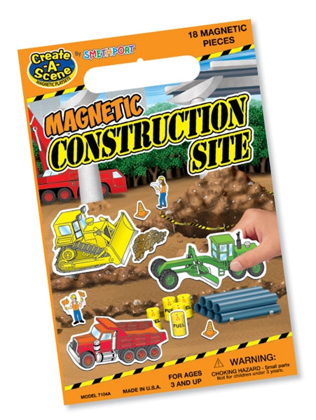 Magnetic Construction Site