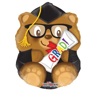 "18"" Grad! Bear Balloon"