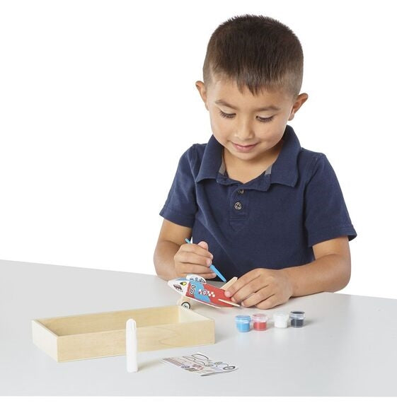 Wooden Plane Craft Kit Melissa and Doug
