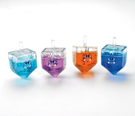 Dreidel Filled with Colored Gel Putty