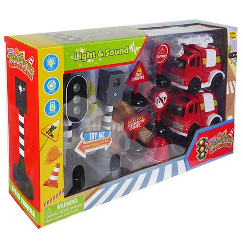 9 Piece Construction Enforcer Play Set
